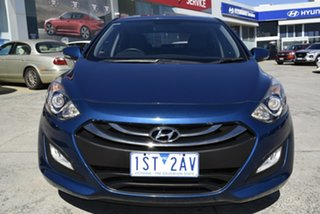 2014 Hyundai i30 GD2 MY14 Trophy Blue 6 Speed Sports Automatic Hatchback.