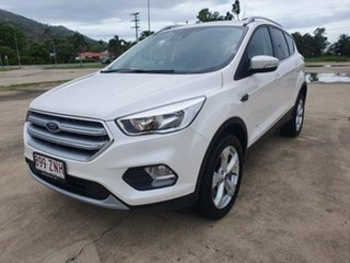 2019 Ford Escape ZG 2019.75MY Trend White Platinum 6 Speed Sports Automatic Dual Clutch SUV