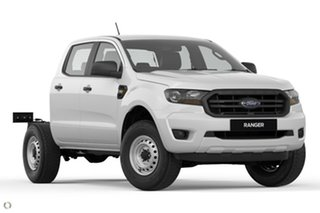 2020 Ford Ranger PX MkIII 2020.75MY XL Hi-Rider White 6 Speed Sports Automatic Double Cab Chassis.