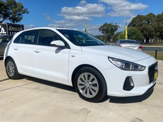 2018 Hyundai i30 Go White Sports Automatic Hatchback.