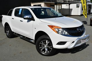 2013 Mazda BT-50 MY13 GT (4x4) White 6 Speed Automatic Dual Cab Utility.