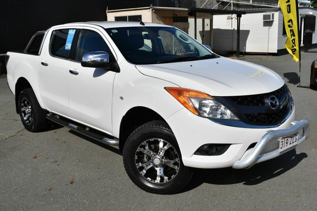 Used Mazda BT-50 MY13 GT (4x4) Underwood, 2013 Mazda BT-50 MY13 GT (4x4) White 6 Speed Automatic Dual Cab Utility