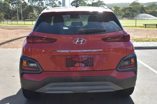 2017 Hyundai Kona OS MY18 Elite 2WD Orange 6 Speed Sports Automatic Wagon