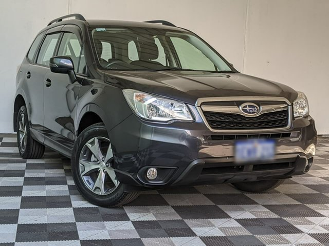 Used Subaru Forester S4 MY15 2.5i-L CVT AWD Victoria Park, 2015 Subaru Forester S4 MY15 2.5i-L CVT AWD Grey 6 Speed Constant Variable Wagon