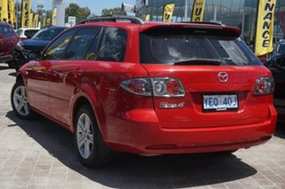 2006 Mazda 6 GY1032 Classic Red 5 Speed Automatic Wagon
