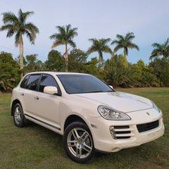2009 Porsche Cayenne 9PA MY09 Diesel White 6 Speed Sports Automatic Wagon.