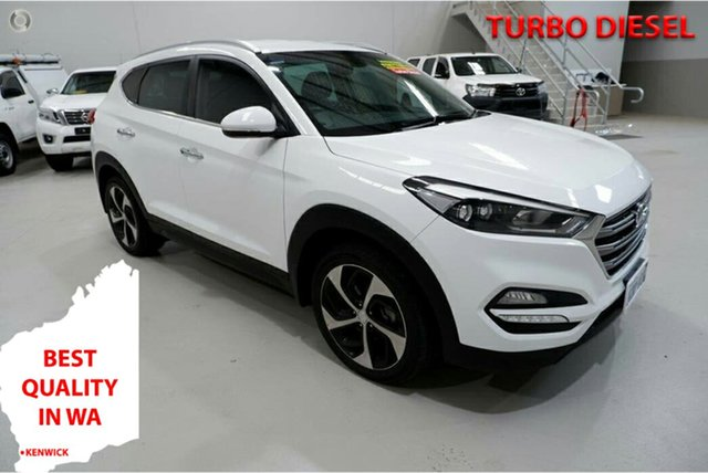 Used Hyundai Tucson TLE Elite AWD Kenwick, 2016 Hyundai Tucson TLE Elite AWD White 6 Speed Sports Automatic Wagon