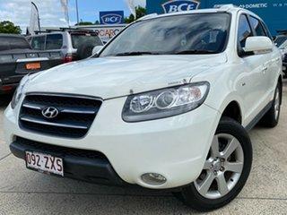 2009 Hyundai Santa Fe CM MY10 Elite White 6 Speed Sports Automatic Wagon.