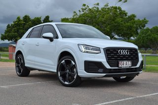 2019 Audi Q2 GA MY19 35 TFSI S Tronic design White 7 Speed Sports Automatic Dual Clutch Wagon.