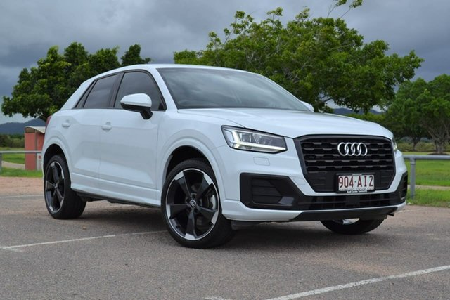 Used Audi Q2 GA MY19 35 TFSI S Tronic design Mundingburra, 2019 Audi Q2 GA MY19 35 TFSI S Tronic design White 7 Speed Sports Automatic Dual Clutch Wagon