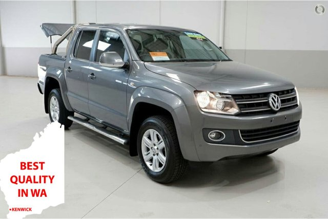 Used Volkswagen Amarok 2H MY15 TDI420 4Motion Perm Highline Kenwick, 2015 Volkswagen Amarok 2H MY15 TDI420 4Motion Perm Highline Grey 8 Speed Automatic Utility