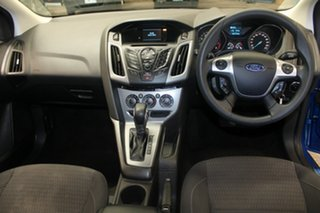 2014 Ford Focus LW MK2 MY14 Trend Blue 6 Speed Automatic Hatchback