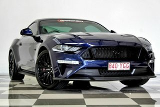 2018 Ford Mustang FN Fastback GT 5.0 V8 Blue 10 Speed Automatic Coupe.
