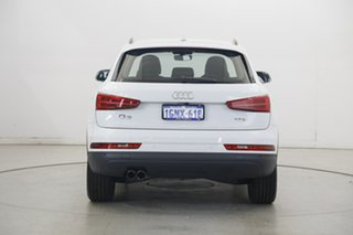 2018 Audi Q3 8U MY18 TFSI S Tronic White 6 Speed Sports Automatic Dual Clutch Wagon