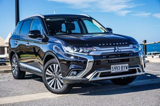 2018 Mitsubishi Outlander ZL MY18.5 Exceed AWD Black 6 Speed Constant Variable Wagon.