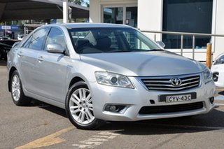 2010 Toyota Aurion GSV40R MY10 Touring Silver 6 Speed Sports Automatic Sedan.