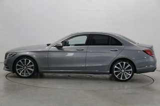 2015 Mercedes-Benz C-Class W205 C250 7G-Tronic + Silver 7 Speed Sports Automatic Sedan.