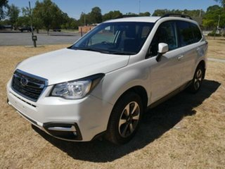 2017 Subaru Forester MY17 2.0D-L White Continuous Variable Wagon.