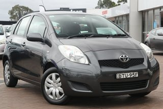 2010 Toyota Yaris NCP90R MY10 YR Grey 4 Speed Automatic Hatchback.