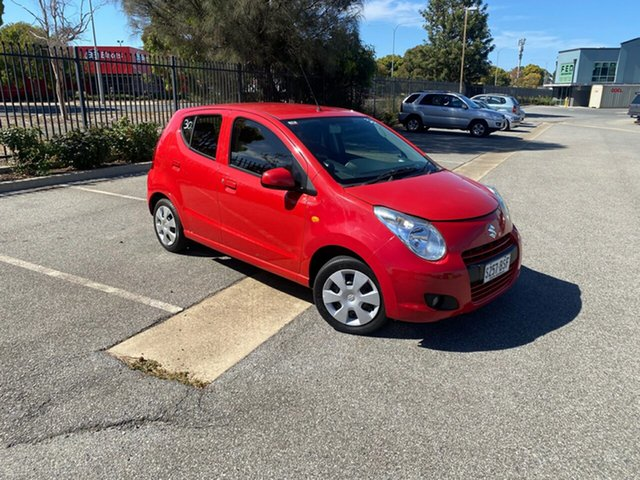 Used Suzuki Alto GF GL Mile End, 2012 Suzuki Alto GF GL Red 5 Speed Manual Hatchback