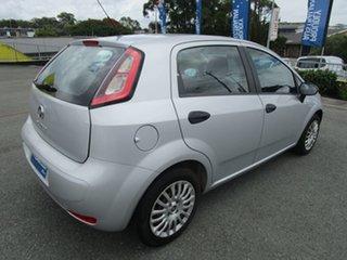 2013 Fiat Punto MY13 Pop Dualogic Silver 5 Speed Sports Automatic Single Clutch Hatchback