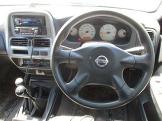 2009 Nissan Navara D22 Turbo ST-R White Manual CREWCAB UTILITY