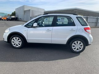 2012 Suzuki SX4 GYA MY11 S White 6 Speed Manual Hatchback