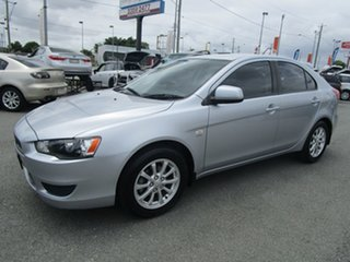 2011 Mitsubishi Lancer CJ MY11 SX Sportback Silver 6 Speed Constant Variable Hatchback.