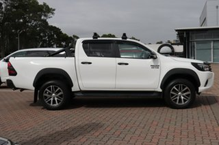 2017 Toyota Hilux GUN126R SR5 Double Cab Super White 11/cert 6 Speed Sports Automatic Utility