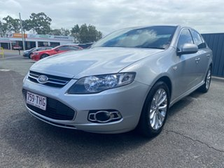 2013 Ford Falcon FG MkII G6 Silver 6 Speed Sports Automatic Sedan