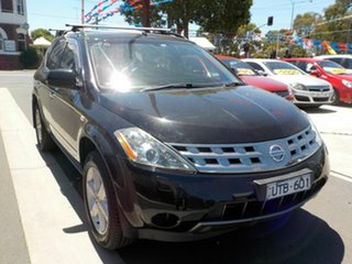 2007 Nissan Murano Z50 TI-L Black Continuous Variable Wagon.