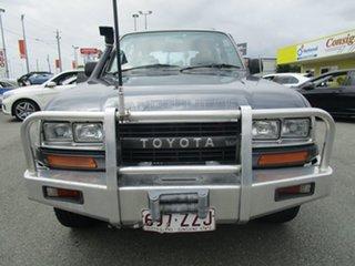 1990 Toyota Landcruiser HDJ80R GXL Grey 5 Speed Manual Wagon