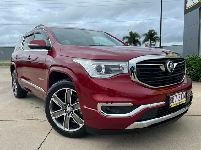Used Holden Acadia AC MY19 LTZ-V AWD Townsville, 2019 Holden Acadia AC MY19 LTZ-V AWD Red 9 Speed Sports Automatic Wagon