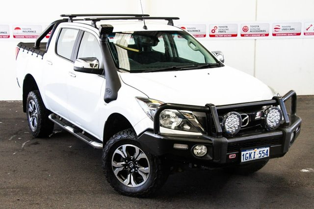 Pre-Owned Mazda BT-50 MY16 XTR (4x4) Myaree, 2017 Mazda BT-50 MY16 XTR (4x4) 6 Speed Manual Dual Cab Utility