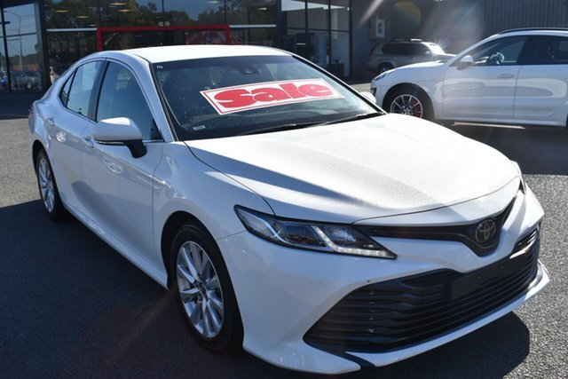 Used Toyota Camry ASV70R Ascent Wantirna South, 2019 Toyota Camry ASV70R Ascent White 6 Speed Sports Automatic Sedan