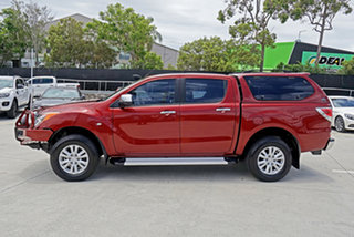 2012 Mazda BT-50 UP0YF1 XTR Red 6 Speed Sports Automatic Utility