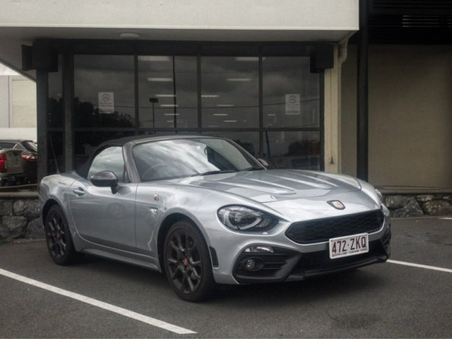 Used Abarth 124 348 Spider Mount Gravatt, 2017 Abarth 124 348 Spider 6 Speed Manual Roadster