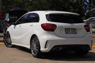 2016 Mercedes-Benz A-Class W176 807MY A200 D-CT Cirrus White 7 Speed Sports Automatic Dual Clutch.