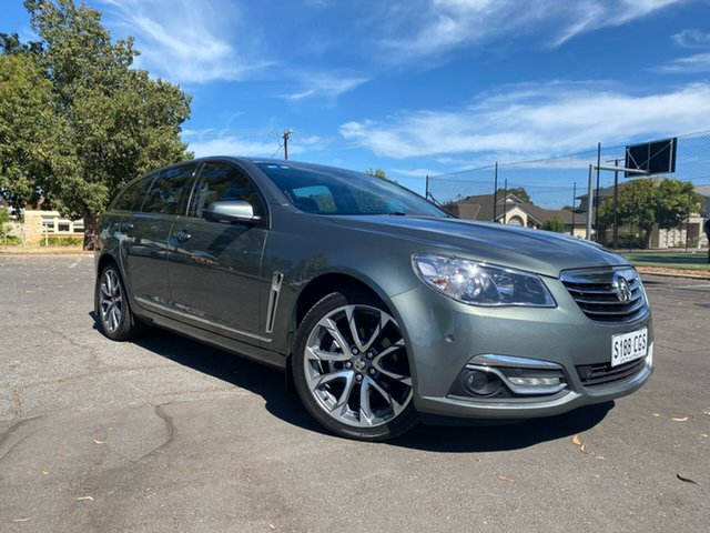 Used Holden Calais VF II MY16 V Sportwagon Nailsworth, 2016 Holden Calais VF II MY16 V Sportwagon Green 6 Speed Sports Automatic Wagon