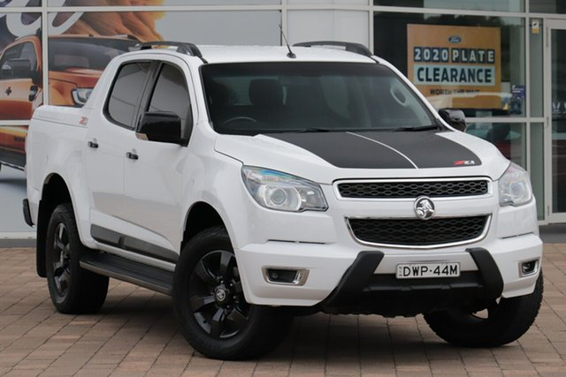 Used Holden Colorado RG MY17 Z71 Pickup Crew Cab Warwick Farm, 2016 Holden Colorado RG MY17 Z71 Pickup Crew Cab White 6 Speed Sports Automatic Utility