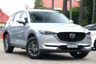 2017 Mazda CX-5 MY17 Maxx Sport (4x2) Silver 6 Speed Automatic Wagon.