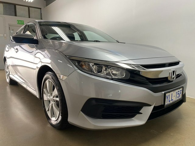 Used Honda Civic MY16 VTi Phillip, 2016 Honda Civic MY16 VTi Silver Continuous Variable Sedan