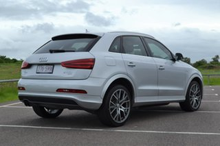 2012 Audi Q3 8U MY12 TDI S Tronic Quattro Silver 7 Speed Sports Automatic Dual Clutch Wagon.