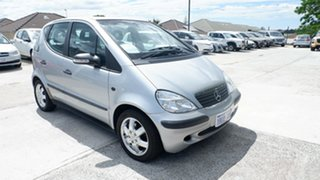2004 Mercedes-Benz A-Class W168 MY03.5 A160 Classic Silver 5 Speed Automatic Hatchback.
