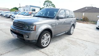2010 Land Rover Range Rover Sport L320 10MY TDV8 Grey 6 Speed Sports Automatic Wagon.