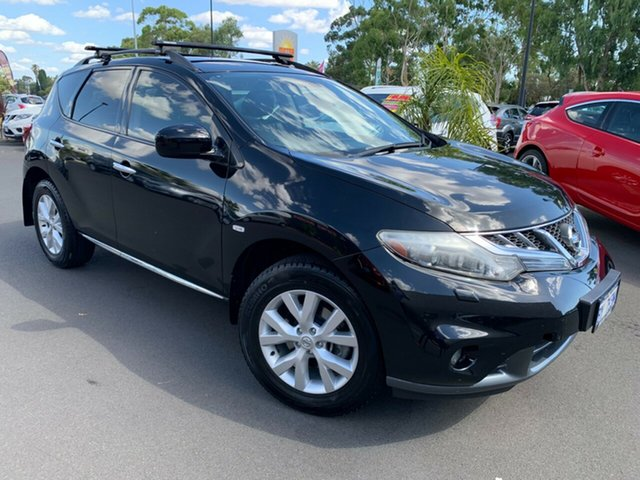 Used Nissan Murano Z51 Series 4 MY14 ST Bunbury, 2013 Nissan Murano Z51 Series 4 MY14 ST Black 6 Speed Constant Variable Wagon