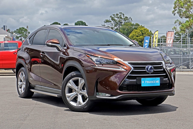 Used Lexus NX AYZ15R NX300h E-CVT AWD Sports Luxury Chandler, 2016 Lexus NX AYZ15R NX300h E-CVT AWD Sports Luxury Bronze 6 Speed Constant Variable Wagon Hybrid