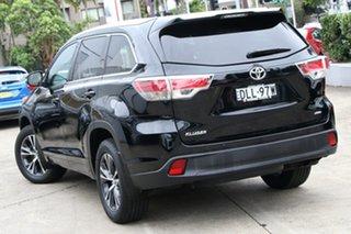 2016 Toyota Kluger GSU55R GXL (4x4) Eclipse Black 6 Speed Automatic Wagon.