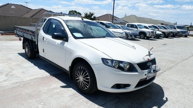 Used Ford Falcon FG Ute Super Cab St James, 2009 Ford Falcon FG Ute Super Cab White 4 Speed Sports Automatic Utility