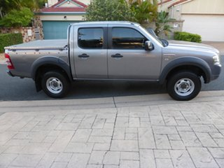 2008 Ford Ranger PJ 07 Upgrade XL (4x2) Grey 5 Speed Automatic Dual Cab Pick-up.